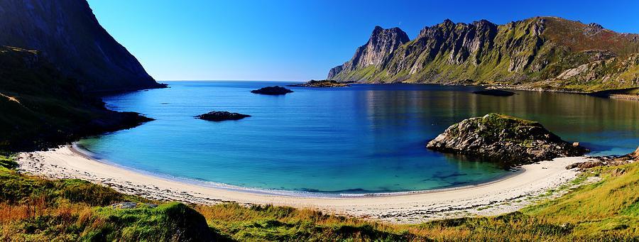 Sunny Norse Atlantic Fjordland Photograph
