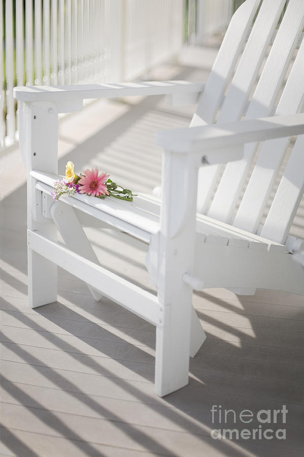 Porch Photograph - Sunny Porch by Diane Diederich