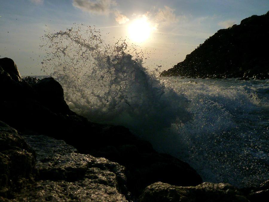 Sun Photograph - Sunny Wave by Alessio Casula