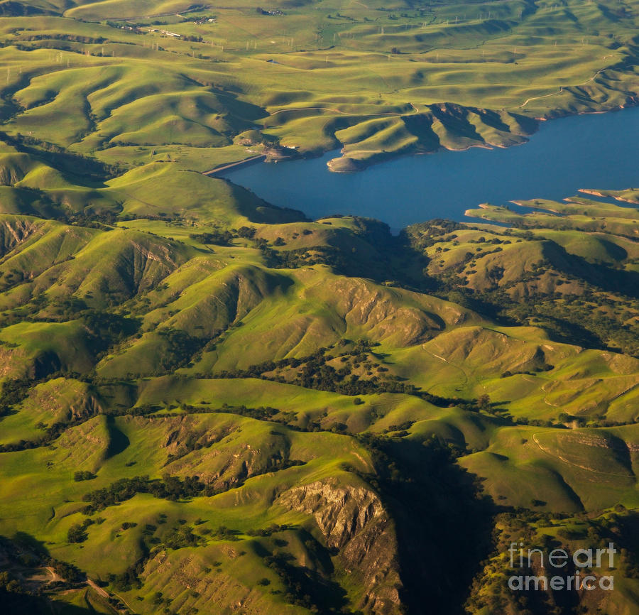 California Photograph - Sunol Wilderness From Above by Matt Tilghman