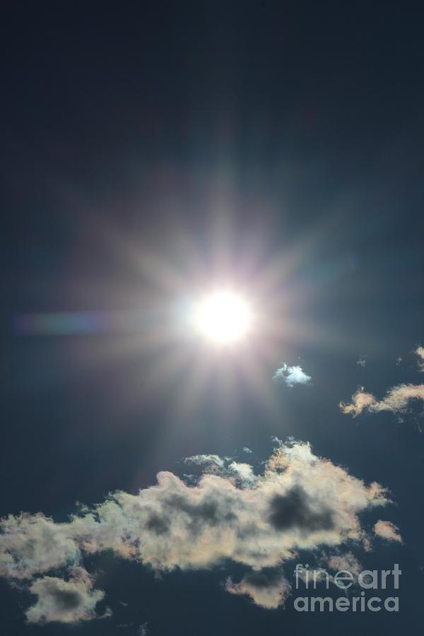 Sun Photograph - Sunray 1 by Brenda Henley