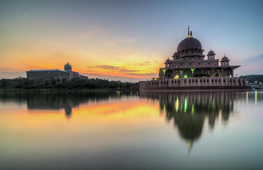 Sunrise | Masjid Putra, Putrajaya | Hdr Photograph by Mohamad Zaidi Photography