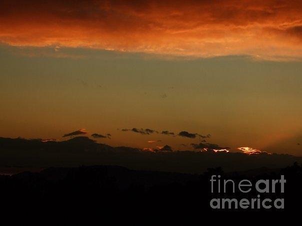Sunset Photograph - Sunrise-1 by Katerina Kostaki
