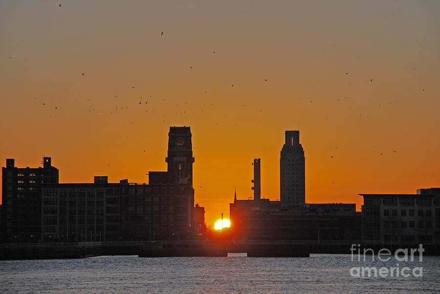 Sunrise and the City by Scott D Welch