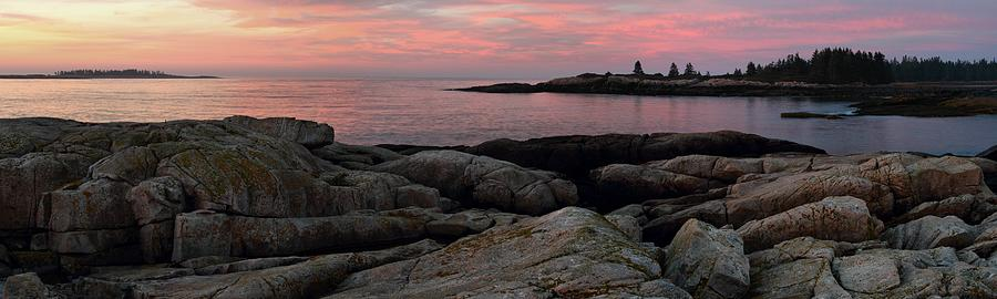 Sunrise At Blueberry Hill by Mike Farslow