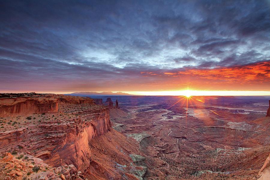 Sunrise At Canyonlands Photograph by Hansrico Photography