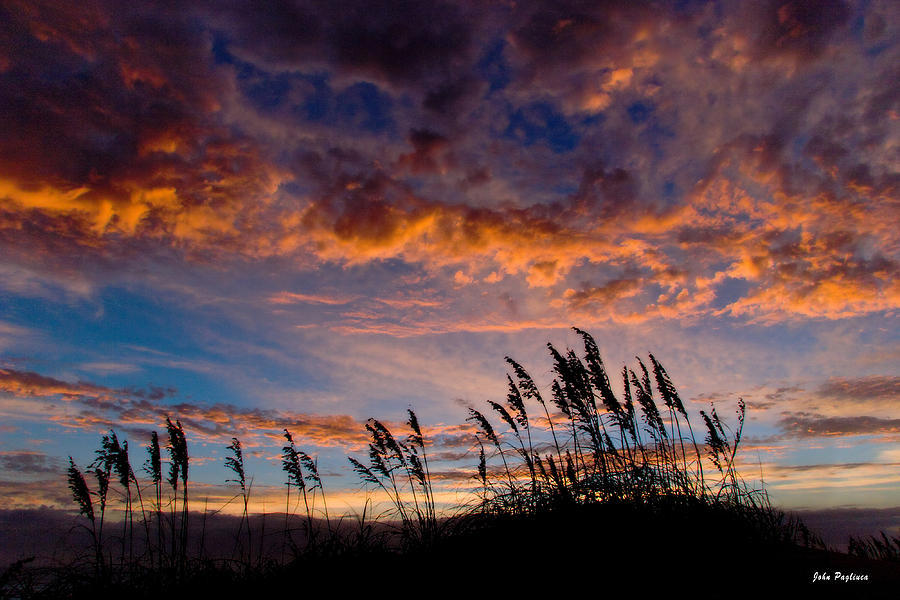 Sea Photograph - Sunrise At Hatteras by John Pagliuca