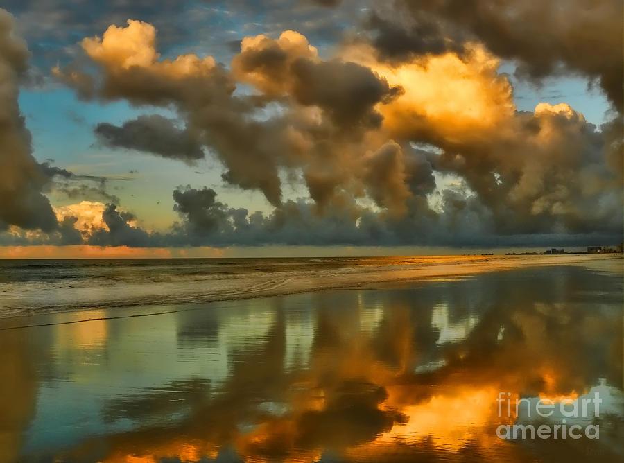 Sunrise Photograph - Sunrise At Myrtle Beach II by Jeff Breiman