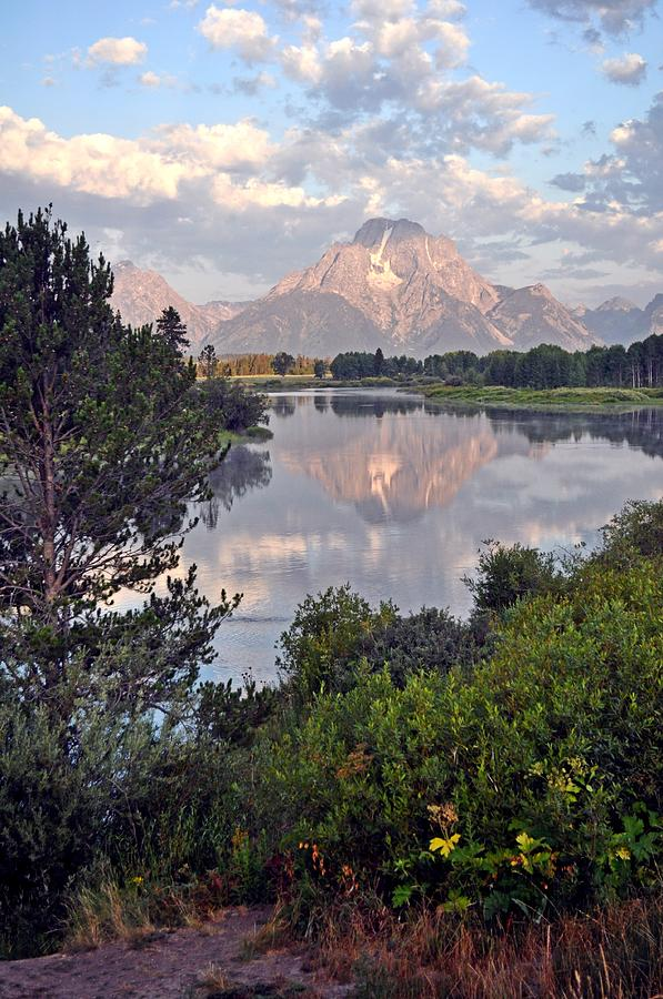 Grand Teton National Park Photograph - Sunrise At Oxbow Bend 3 by Marty Koch