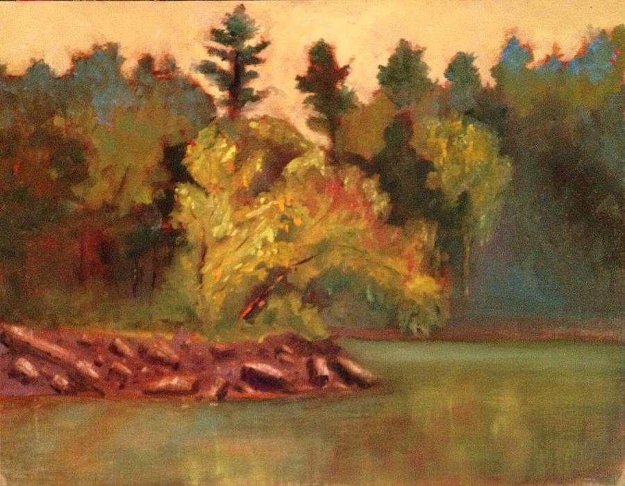Sunrise Painting - Sunrise At Sleepy Hollow by Jenell Richards