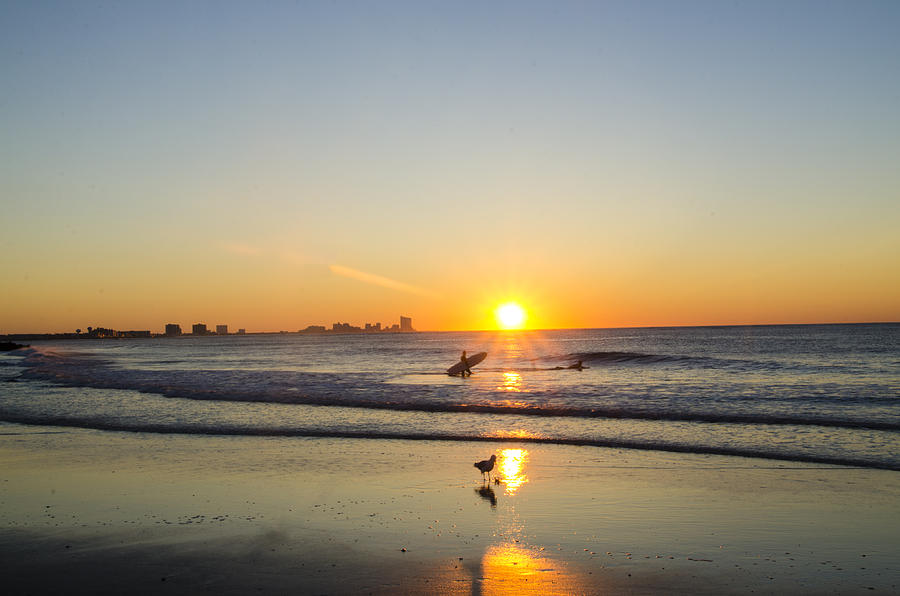 Sunrise At Waverly Beach