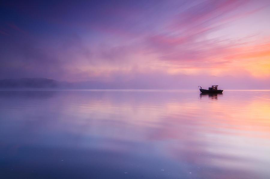 Sunrise Bay Photograph