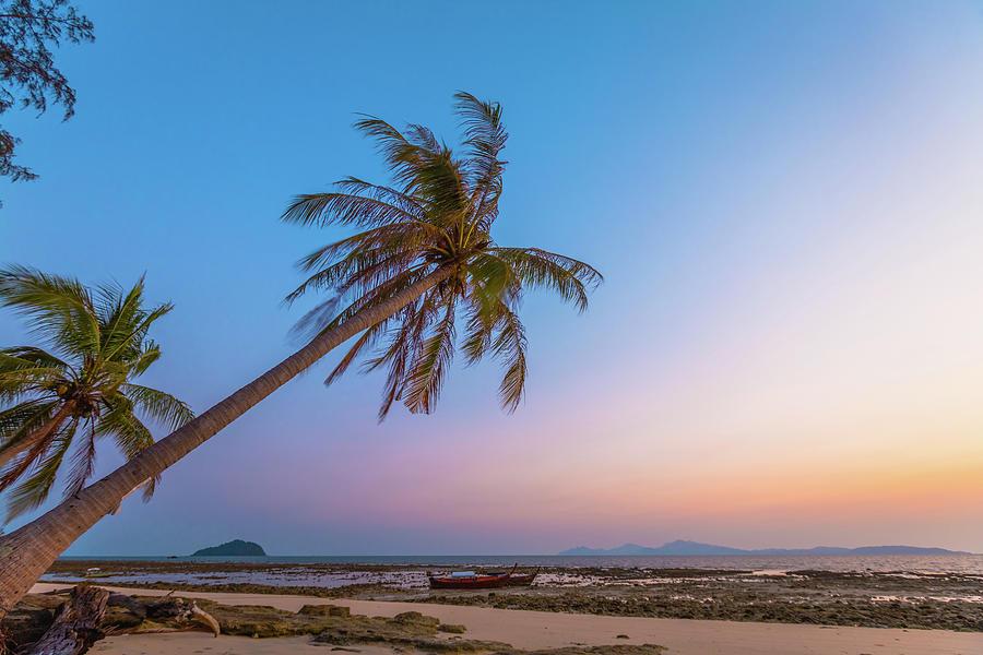 Sunrise Beach Andaman Sea Thailand Photograph by Deimagine