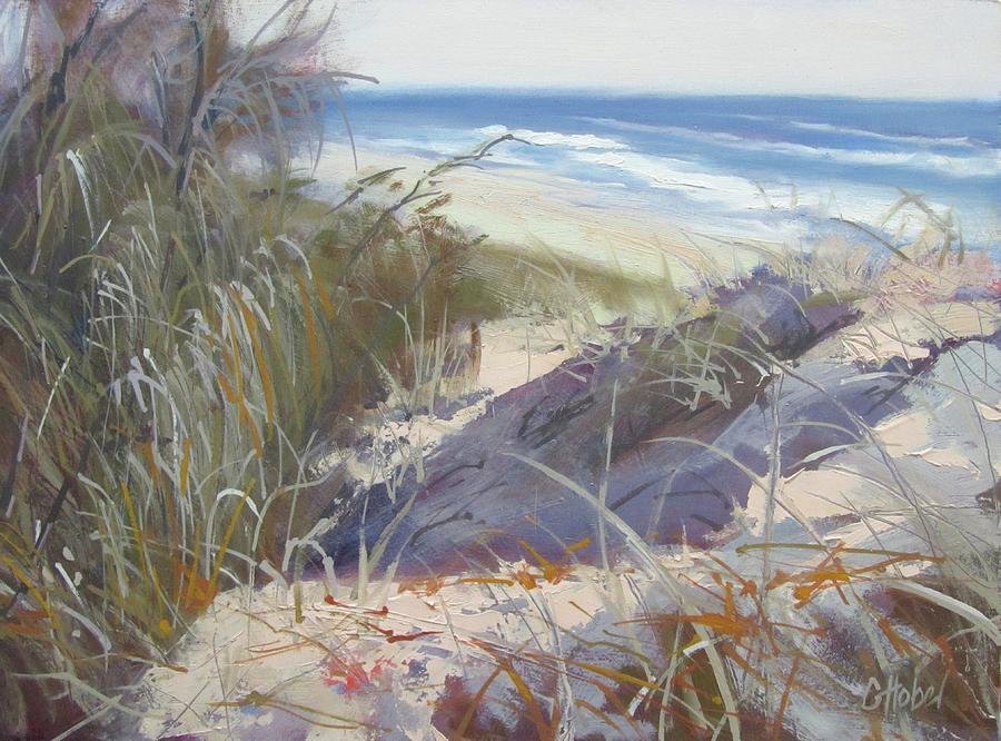 Sunrise Beach Dunes Sunshine Coast Qld Australia by Chris Hobel