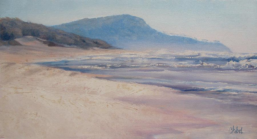Sunrise Beach Lions Head Qld Australia Painting by Chris Hobel