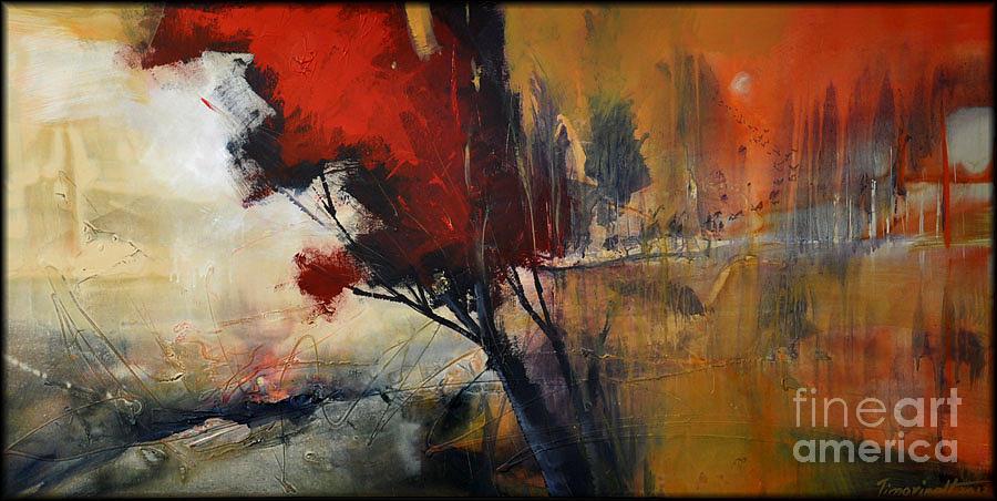 Sunrise Painting - Sunrise by David Figielek