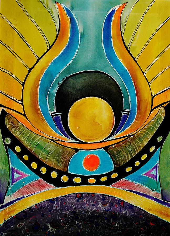 Mythology Painting - Sunrise by Deyana Deco