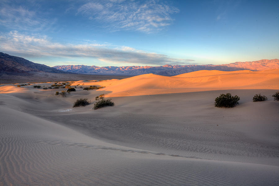 Sand Dunes Photograph - Sunrise Dunes by Peter Tellone