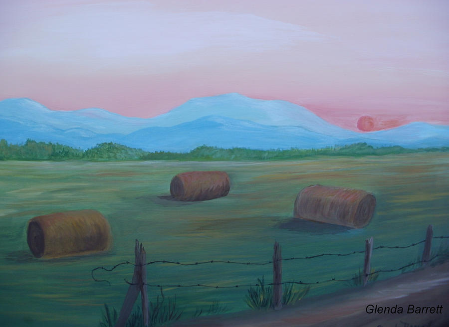 Original Painting - Sunrise by Glenda Barrett