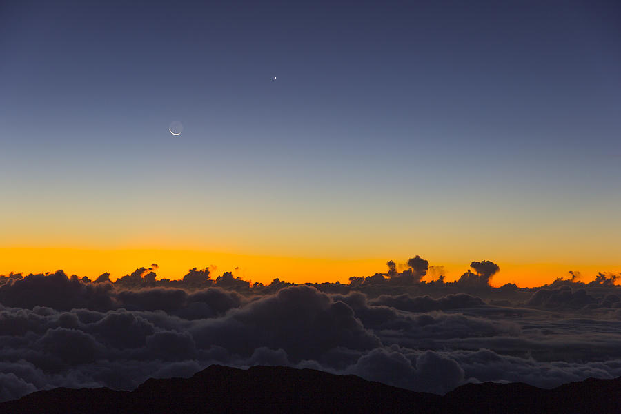 Hawaii Photograph - Sunrise Haleakala Volcano by Norman Blume