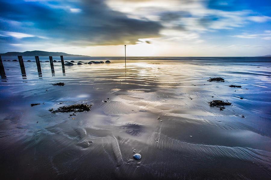 sunrise in bull island dublin ireland photograph by giuseppe milo