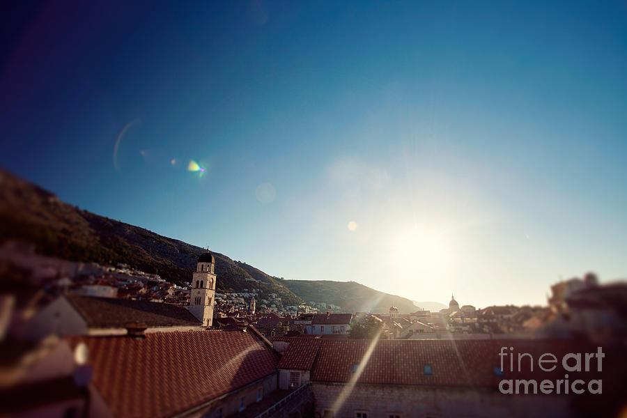 Sunrise In Dubrovnik Photograph