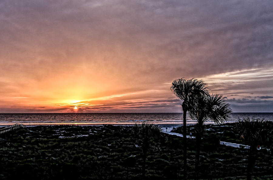 Sunrise Photograph - Sunrise In Orange by Christina Manassa