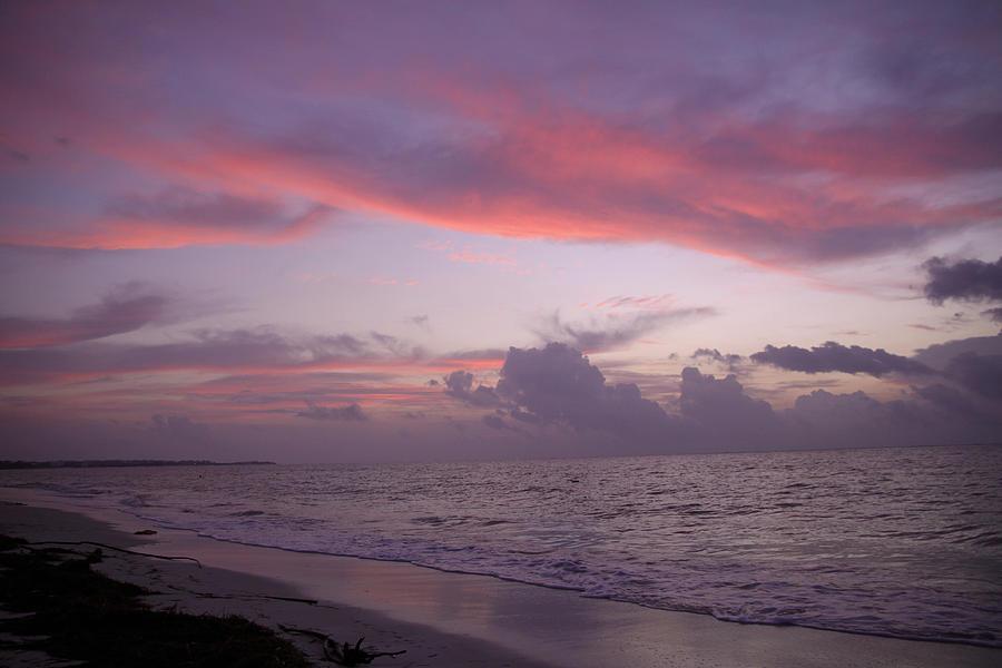 Sunrise Photograph - Sunrise In Riviera Maya by Dave Dos Santos