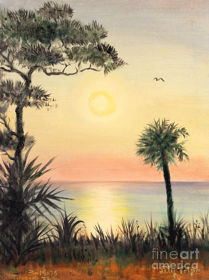 Sunrise in Titutsville by Art By Tolpo Collection