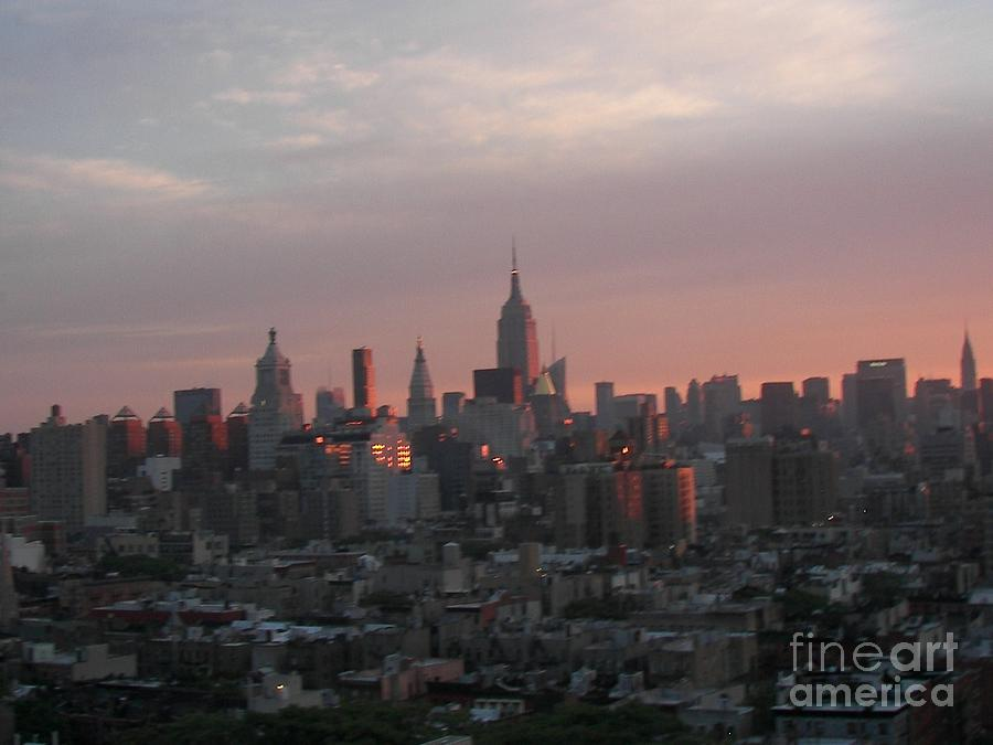 Skylines Photograph - Sunrise by James Dolan