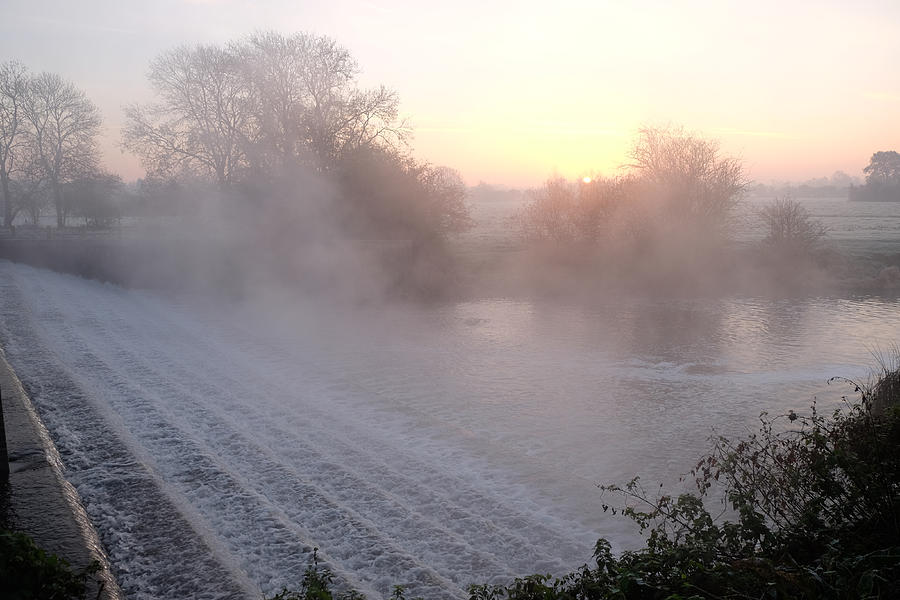 Fog Photograph - Sunrise by Mark Severn