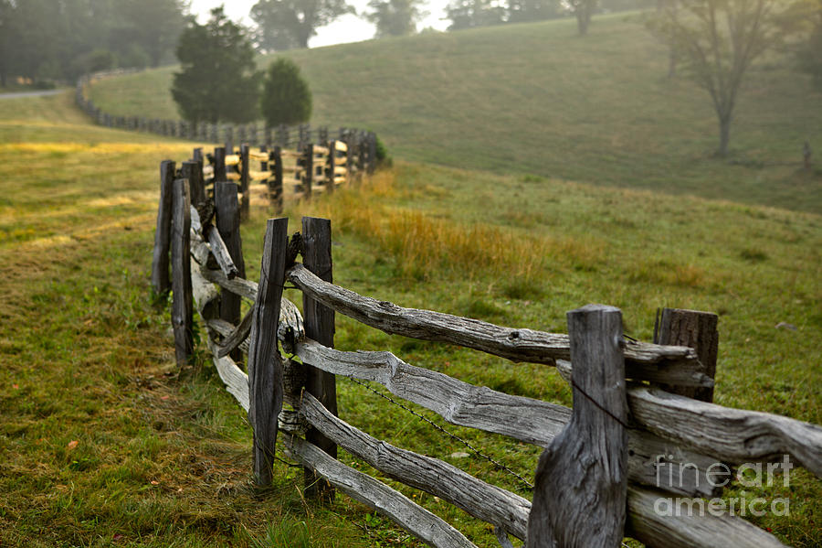 Blue Ridge Parkway Photograph - Sunrise Meadow - Blue Ridge Parkway I by Dan Carmichael
