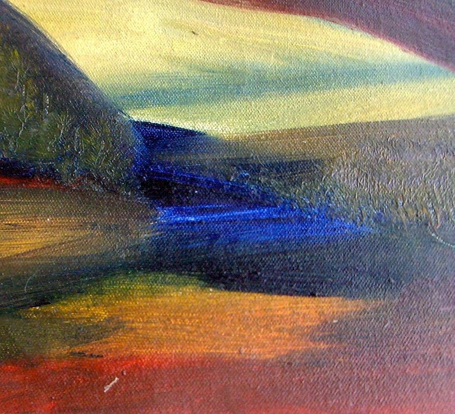 Landscape Painting - Sunrise  by Michaela Kraemer