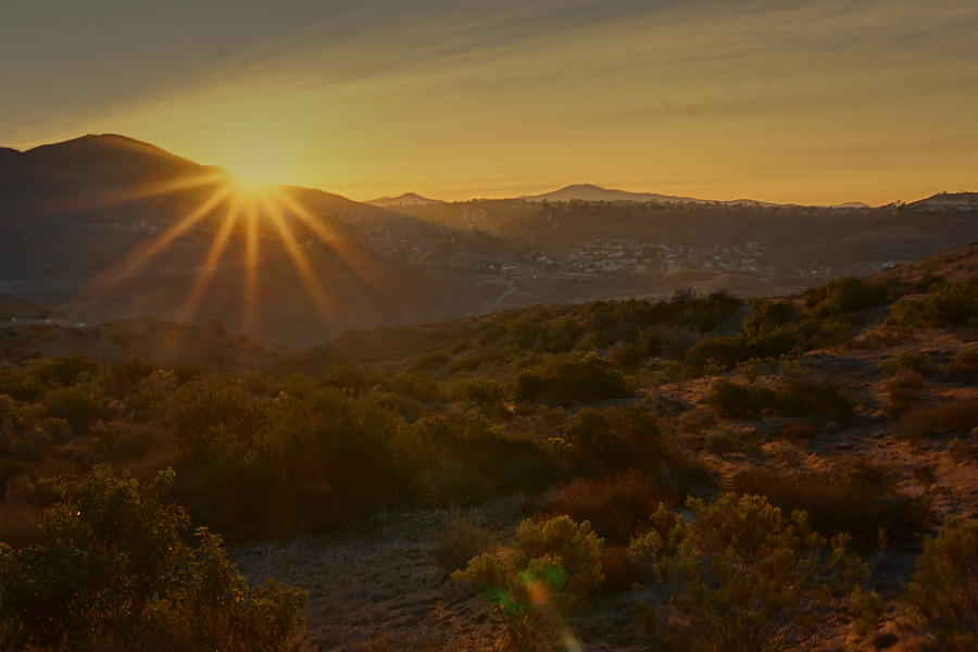 Sunrise Mission Trails San Diego  by Jeremy McKay