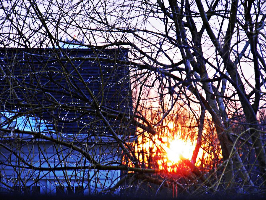 Sarah Loft Photograph - Sunrise Next Door by Sarah Loft