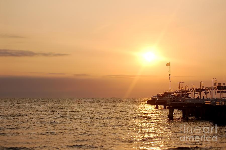 Background Photograph - Sunrise Ocean by Michal Bednarek