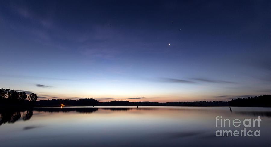 Sunrise Photograph - Sunrise On Lake Lanier by Bernd Laeschke