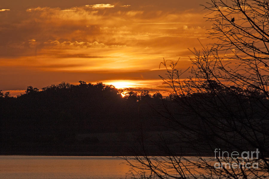 Sunrise on Lake Weir - 6 by Tom Doud