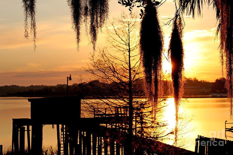 Sunrise on Lake Weir - 7 by Tom Doud