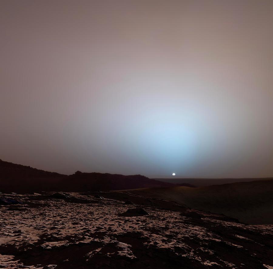 время вид солнца с марса фото любители