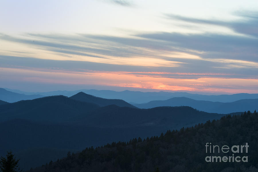 Sunrise on the Blue Ridge by Louise St Romain