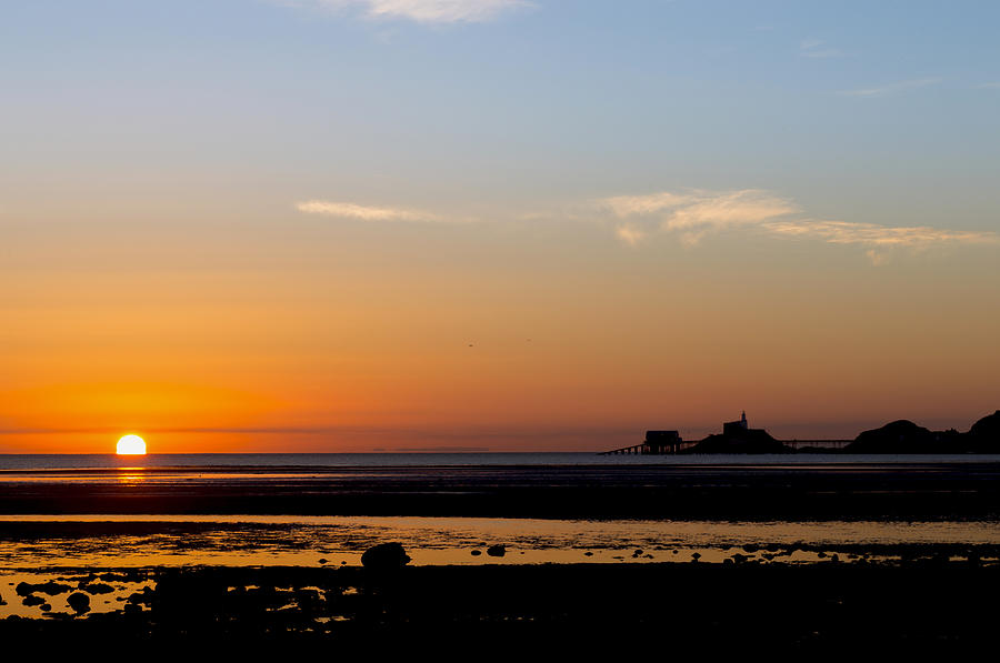 Sunrise on the Mumbles by Paul Cowan