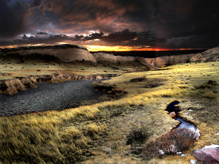 Prairie Photograph - Sunrise On The Pawnee Grasslands by Ric Soulen