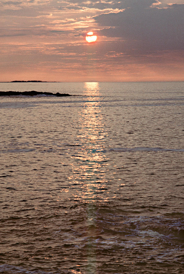 Acadia Photograph - Sunrise Otter Cliffs by Peter J Sucy
