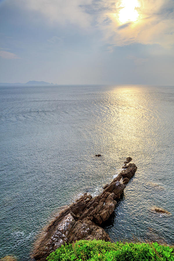 Sunrise Over The Coast Of Shenzhen Photograph by Feng Wei Photography