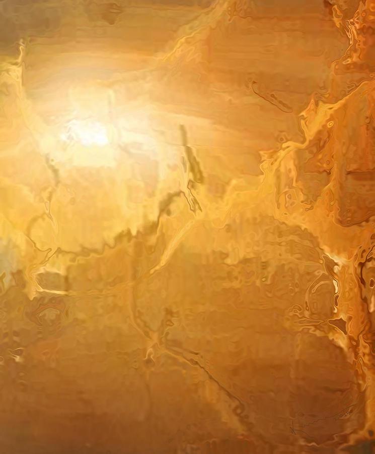 Dune Painting - Sunrise Over The Dunes by Kume Bryant