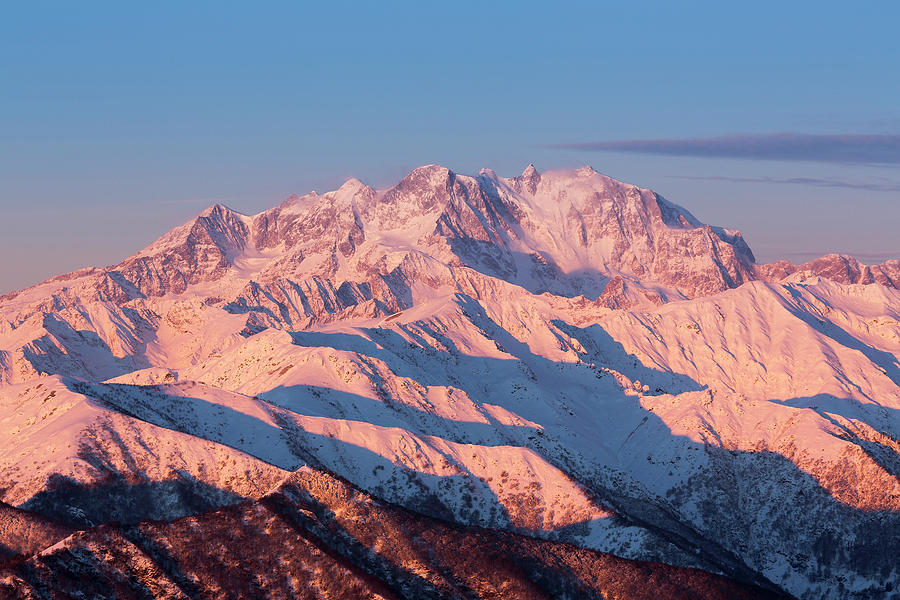 Sunrise Over The Monte Rosa Photograph by Buena Vista Images