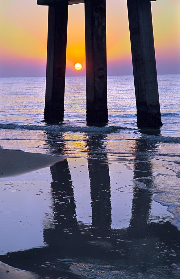 Sunrise Pier by Pristine Images