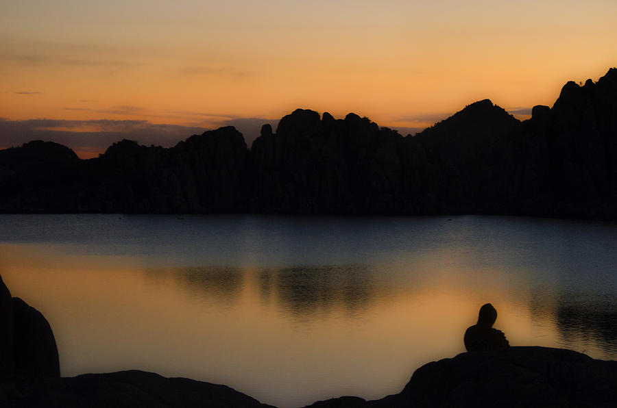 Sunrise Photograph - Sunrise Solitude by Dave Dilli