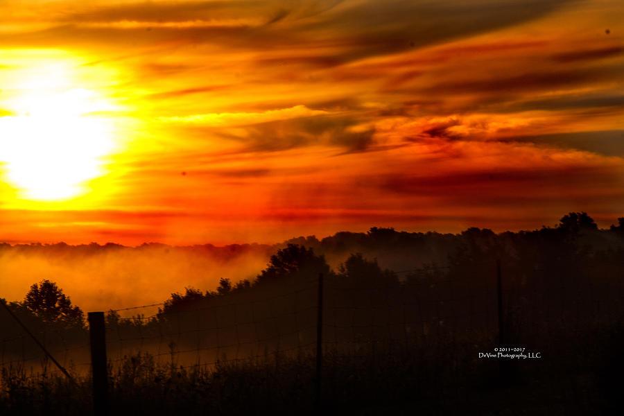 Sunrise Photograph - Sunrise by Stephani JeauxDeVine